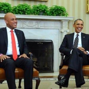 Martelly & Obama