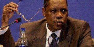 Issa Hayatou, FIFA ai President.