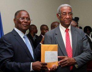President Privert & Conseiller Benoit