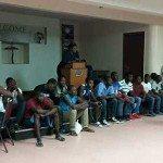 Haitiens en Transit.