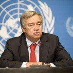 Le Secrétaire général désigné de l'ONU, António Guterres.