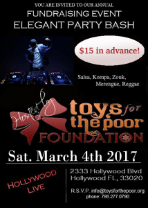 Toys For the poor Fundraising Event