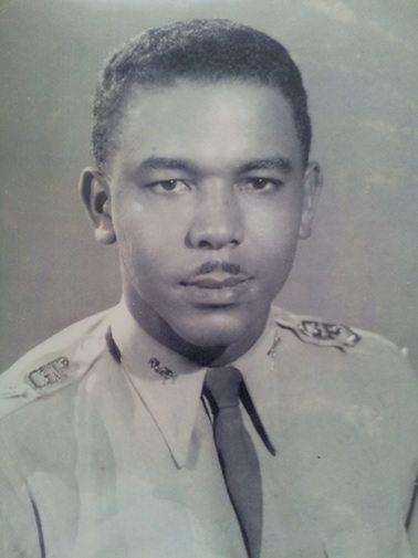 Lt. Joseph Laroche 1963. Photo Courtoisie Roseline P. Laroche.